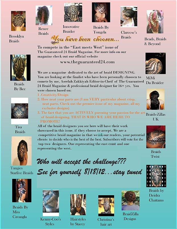 Hottest Online Magazine for Hair Braiding Artists!