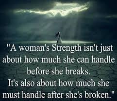 a womans strength